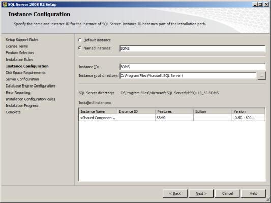 Installation de SQL Server 2008 R2 Express sur Windows 8