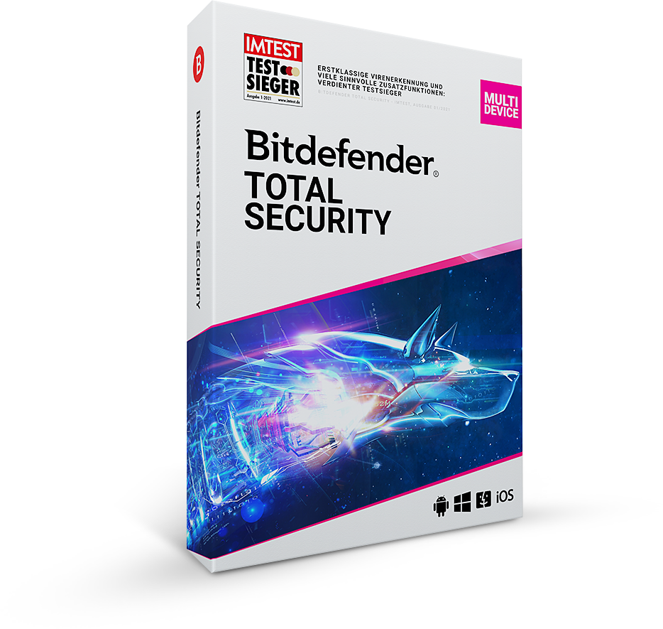 免费获取 6 个月 Bitdefender Total Security 2021 授权[Windows、macOS、Android、iOS]